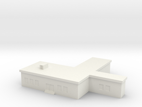 1/500 Command Building in White Natural Versatile Plastic