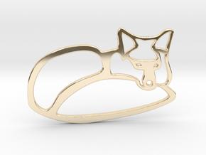 fox in 14K Yellow Gold