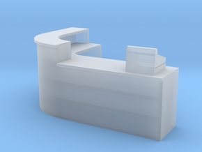 1:64 Shop Counter in Smooth Fine Detail Plastic