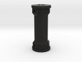 Totem Earphone Storage in Black Natural Versatile Plastic