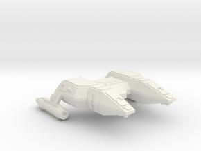 3788 Scale Lyran Refitted Manx Police Corvette CVN in White Natural Versatile Plastic