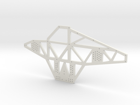 Full Metal Artist Designs KAMM-1 Chassis Plate in White Natural Versatile Plastic