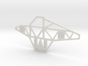 Full Metal Artist Designs KAMM-1 Chassis Plate in White Natural Versatile Plastic