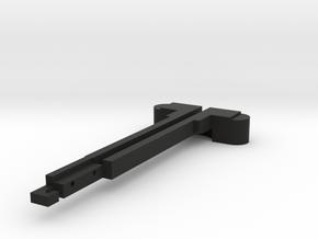 AEG M4 charging handle in Black Natural Versatile Plastic
