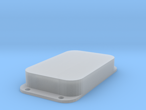Strat PU Cover, Double Wide, Closed in Smooth Fine Detail Plastic