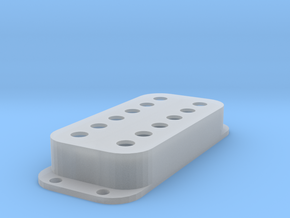 Strat PU Cover, Double, Classic in Smooth Fine Detail Plastic