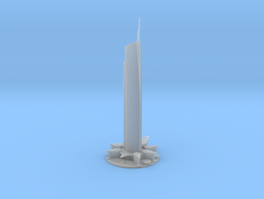 Almas Tower (1:1800) in Smooth Fine Detail Plastic