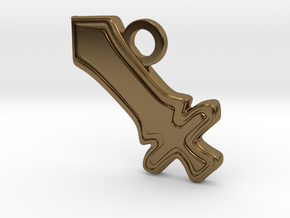 DPS Role Charm in Polished Bronze