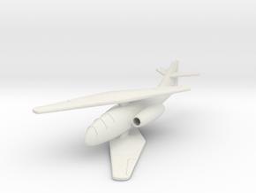 (1:144) Messerschmitt Me P.1109 in White Natural Versatile Plastic