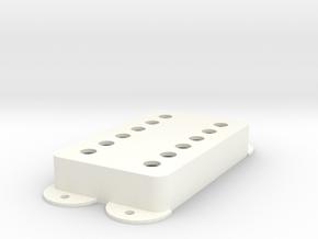 Jag PU Cover, Pickguard, Double, Classic in White Processed Versatile Plastic