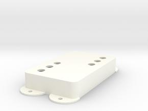 Jag PU Cover, Pickguard, Double, WR in White Processed Versatile Plastic