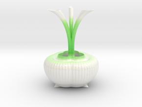 Vase 0439c in Glossy Full Color Sandstone