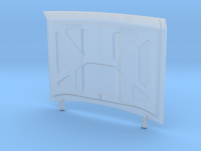 1/24 1974 Dodge Ramcharger Bonnet in Smooth Fine Detail Plastic
