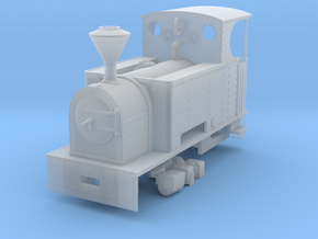 RAR Charlton adapted in Smooth Fine Detail Plastic: 1:43.5