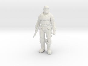 Printle V Homme 1678 - 1/32 - wob in White Natural Versatile Plastic