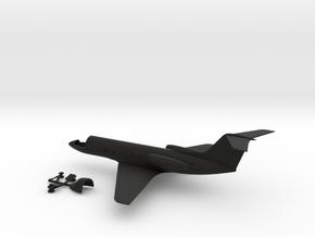 046C Gulfstream II 1/144 WSF in Black Premium Versatile Plastic