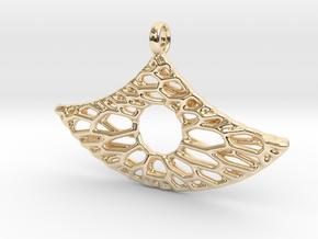 Anker Mesh Pendant 6 in 14K Yellow Gold