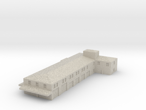 Airport Fire Station in Natural Sandstone: 1:400