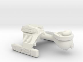 3788 Scale Klingon E4 Escort WEM in White Natural Versatile Plastic
