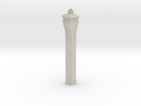 Miami International Airport Tower in Natural Sandstone: 1:400