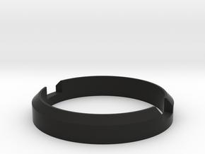 90D lens socket cover in Black Natural Versatile Plastic