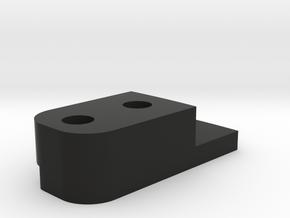 HFP-101095 Gate Block Inner Plate in Black Natural Versatile Plastic