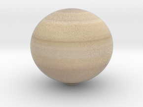 Saturn 1:0.7 billion in Full Color Sandstone