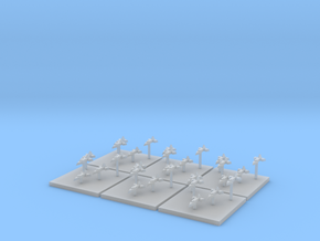 Chaotic Evil Fighters (6) (Tall) in Frosted Ultra Detail