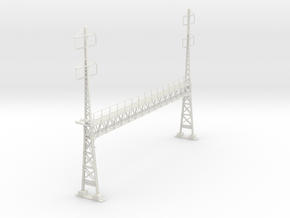 PRR LARGE 2phase/2phase ANCHOR BRIDGE custom  in White Natural Versatile Plastic