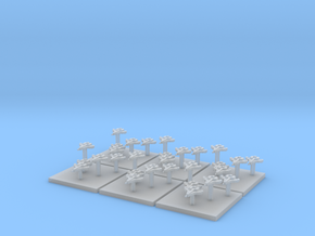 Space Bovine Fighters (6) (Tall) in Frosted Ultra Detail