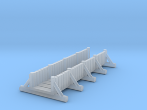 small foot bridge    planked long in Smooth Fine Detail Plastic