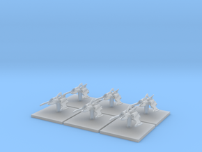 Space Elf Assault Boats (6) (Tall) in Frosted Ultra Detail
