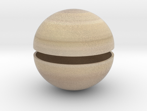 Saturn (Bifurcated) 1:1.5 billion in Full Color Sandstone