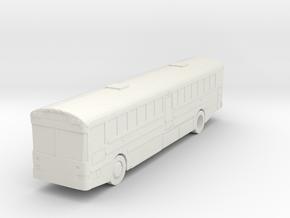 Protestor city tour bus in White Natural Versatile Plastic
