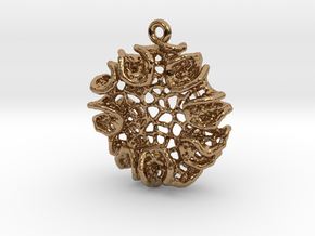 Bloom Pendant in Polished Brass