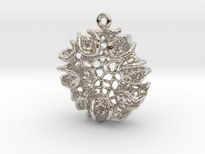 Bloom Pendant in Platinum