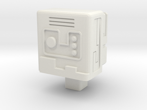 Gobot Stealth Device Matrix Core in White Natural Versatile Plastic