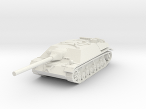 jagdpanzer IV scale 1/87 in White Natural Versatile Plastic