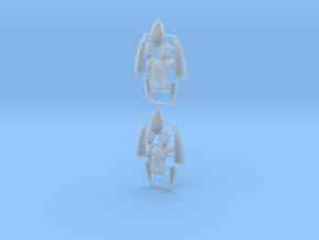 Eldar Corsair Jump Packs (set of 2) in Smoothest Fine Detail Plastic