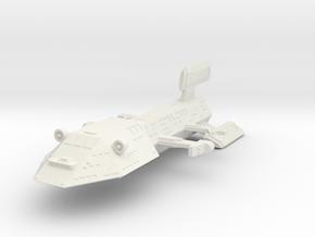 3125 Scale Kzinti Dreadnought (DN) SRZ in White Natural Versatile Plastic
