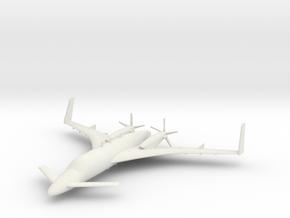 Beechcraft Starship in White Natural Versatile Plastic