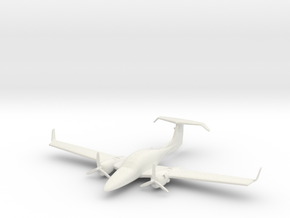 Diamond DA42 Twin Star in White Natural Versatile Plastic: 1:87.1