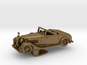 Bentley 1930 4,5L 1:48 in Natural Bronze