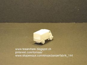 1/120 Peugeot DMA in TT scale in White Natural Versatile Plastic