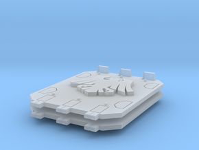 Space Crows Jericho tank doors in Smooth Fine Detail Plastic