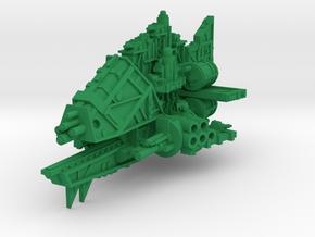 Terrorizer Cruiser (Cannons) in Green Processed Versatile Plastic