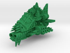 Terrorizer Cruiser (Torpedoes) in Green Processed Versatile Plastic