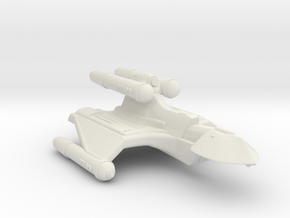 3788 Scale Romulan RoyalHawk-K+ Command Cruiser MG in White Natural Versatile Plastic