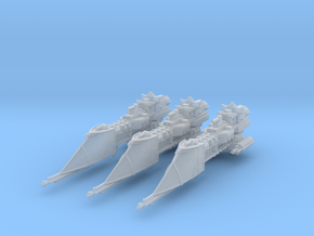 Firelance Frigates (3) in Smooth Fine Detail Plastic