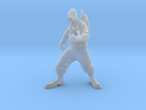 TF2 pyro in Smooth Fine Detail Plastic: Small